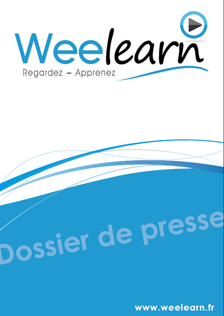 Dossier de presse Weelearn