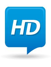 Vidéos en Haute définition